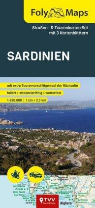FolyMaps SET Sardinien 1:250 000