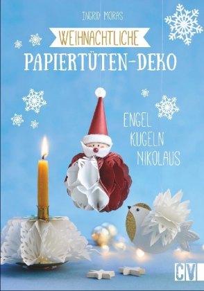 Weihnachtliche Papiertüten-Deko
