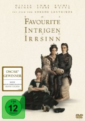 The Favourite, 1 DVD Cover