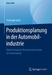 Produktionsplanung in der Automobilindustrie