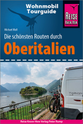 Reise Know-How Wohnmobil-Tourguide Oberitalien Cover
