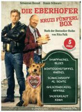 Die Eberhofer- Kruzifünferl Box, 5 DVD Cover