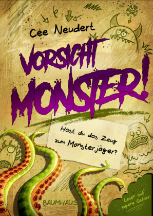 Vorsicht, Monster! - Hast du das Zeug zum Monsterjäger?