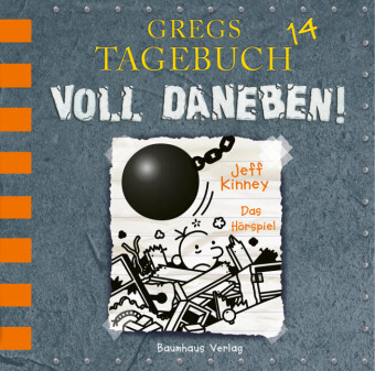 Gregs Tagebuch, Voll daneben, Audio-CD