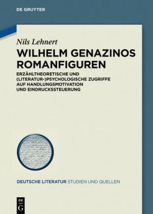 Wilhelm Genazinos Romanfiguren