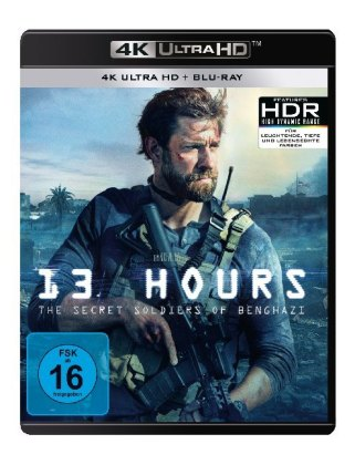 13 Hours: The Secret Soldiers of Benghazi 4K, 2 UHD-Blu-ray