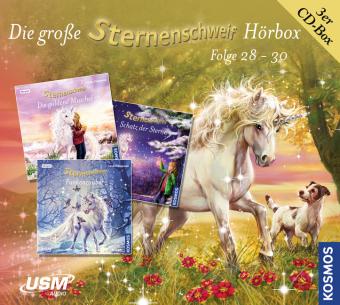 Die große Sternenschweif Hörbox Folgen 28-30 (3 Audio CDs), 3 Audio-CDs