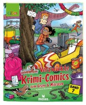 Redaktion Wadenbeißer - Verzwickte Krimi-Comics zum Lesen & Mitraten Cover
