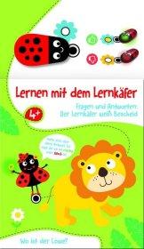 Lernen mit dem Lernkäfer - Löwe, m. Spielfigur