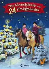 Mein Adventskalender mit 24 Pferdegeschichten Cover