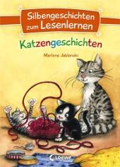 Silbengeschichten zum Lesenlernen - Katzengeschichten Cover