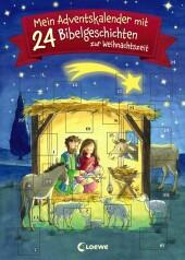 Mein Adventskalender mit 24 Bibelgeschichten zur Weihnachtszeit