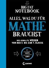 Big Fat Notebook - Alles, was du für Mathe brauchst - Das geballte Wissen von der 5. bis zur 9. Klasse Cover