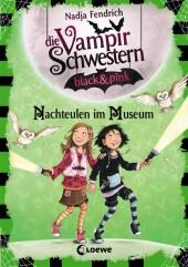 Die Vampirschwestern black & pink - Nachteulen im Museum