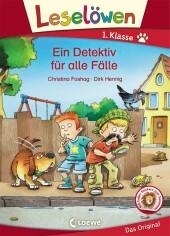 Leselöwen 1. Klasse - Ein Detektiv für alle Fälle Cover