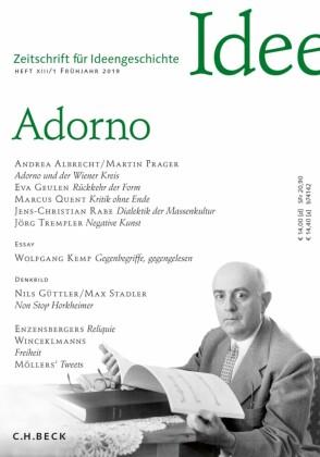 Zeitschrift für Ideengeschichte Heft XIII/1 Frühjahr 2019