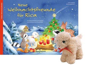 Neue Weihnachtsfreunde für Rica , m. Stoffschaf