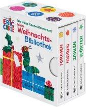 Die kleine Raupe Nimmersatt - Meine Weihnachsbibliothek, 4 Bde.