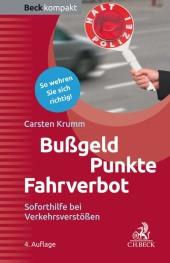 Bußgeld - Punkte - Fahrverbot Cover