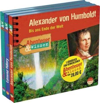 Abenteuer & Wissen Kennenlernangebot, 3 Audio-CDs