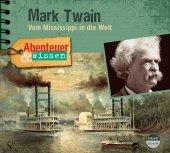 Abenteuer & Wissen: Mark Twain, 1 Audio-CD Cover