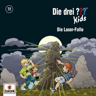 Die drei ??? Kids - Die Laser-Falle, 1 Audio-CD