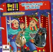 Die drei !!! - Wintertraum in Gefahr - Adventskalender, 2 Audio-CD