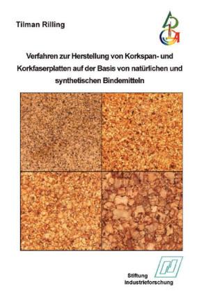 Verfahren zur Herstellung von Korkspan- und Korkfaserplatten auf der Basis von natürlichen und synthetischen Bindemitteln