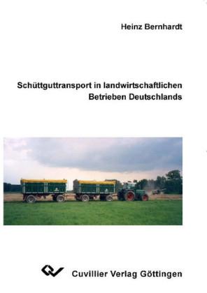 Schüttguttransport in landwirtschaftlichen Betrieben Deutschlands