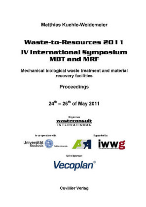Waste-to-Resources 2011- IV International Symposium MBT and MRF