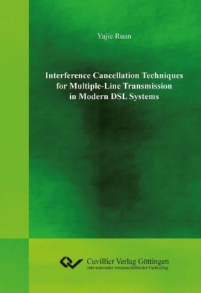 Interference Cancellation Techniques for Multiple-Line Transmission in Modern DSL Systems