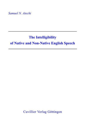 The Intelligibility of Native and Non-Native English Speech