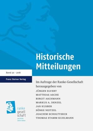 Historische Mitteilungen 30 (2018)