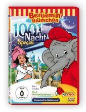 Benjamin Blümchen - 1001 Nacht - Der kleine Flaschengeist + in Indien, 1 DVD Cover