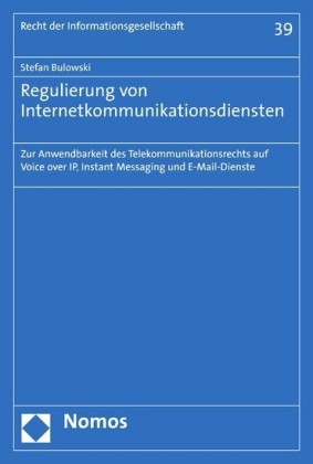 Regulierung von Internetkommunikationsdiensten