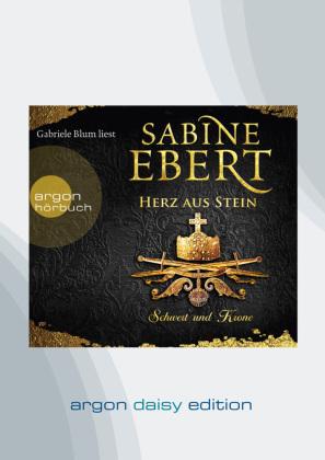Schwert und Krone - Herz aus Stein, 1 MP3-CD (DAISY Edition)