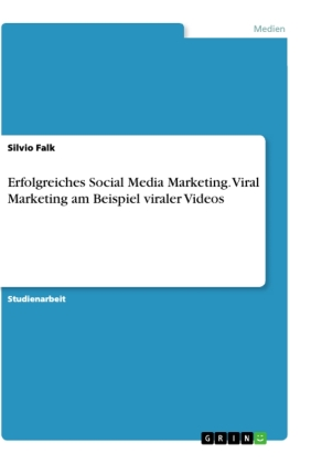 Erfolgreiches Social Media Marketing. Viral Marketing am Beispiel viraler Videos