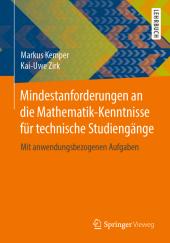 Mindestanforderungen an die Mathematik-Kenntnisse für technische Studiengänge