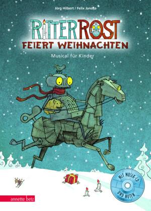 Ritter Rost feiert Weihnachten, m. 1 Audio-CD