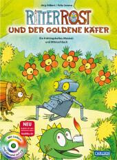 Ritter Rost und der goldene Käfer, m. Audio-CD Cover