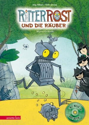 Ritter Rost und die Räuber, m. Audio-CD