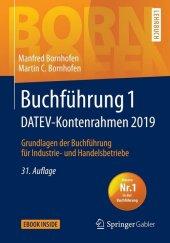 Buchführung 1 DATEV-Kontenrahmen 2019 Cover