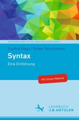 Repp, Sophie; Struckmeier, Volker: Syntax