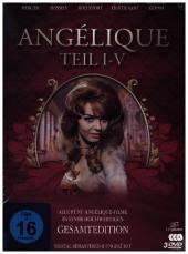 Angélique I-V - Gesamtedition, 3 DVD (Digital Remastered)