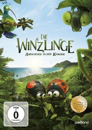 Die Winzlinge - Abenteuer in der Karibik, 1 DVD