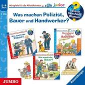 Was machen Polizist, Bauer und Handwerker?, 3 Audio-CDs