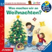 Wieso? Weshalb? Warum? junior - Was machen wir an Weihnachten?, 1 Audio-CD Cover
