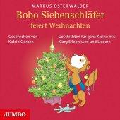 Bobo Siebenschläfer feiert Weihnachten, 1 Audio-CD Cover