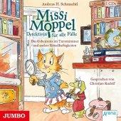 Missi Moppel - Detektivin für alle Fälle - Das Geheimnis im Turmzimmer und andere Rätselhaftigkeiten, 3 Audio-CDs Cover