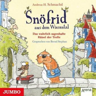 Snöfrid aus dem Wiesental - Das wahrlich sagenhafte Rätsel der Trolle, 1 Audio-CD